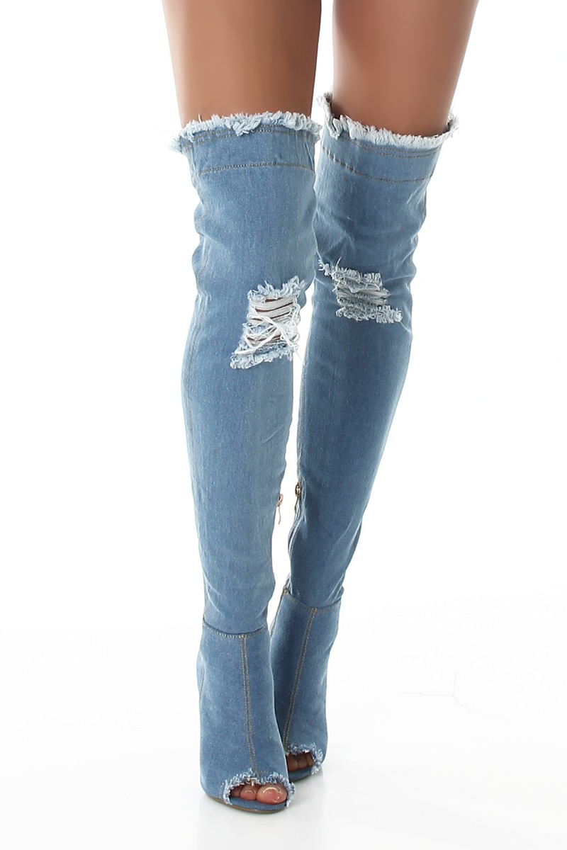 Version Bleu jean
