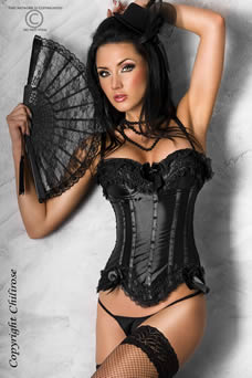 Corset 'Dark-Angel' - visuel