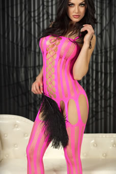 Bodystocking ultra sexy multi mailles - visuel