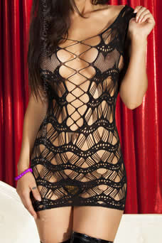 Robe clubwear filet - visuel