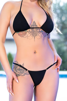 Mini bikini triangle - visuel