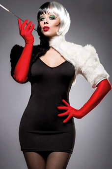 Costume halloween Cruella - visuel