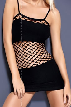 robe sexy ventre filet - visuel
